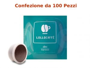 Capsule Fap Lollo Caffè Decaffeinato Compatibili Lavazza Point