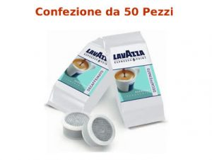Capsule Caffè Lavazza Decaffeinato Originali Espresso Point